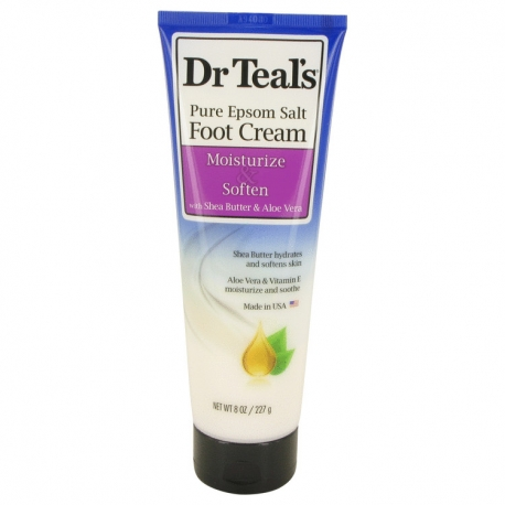 Dr Teal's Dr Teal's Pure Epsom Salt Foot Cream Pure Epsom Salt Foot Cream with Shea Butter & Aloe Vera & Vitamin E