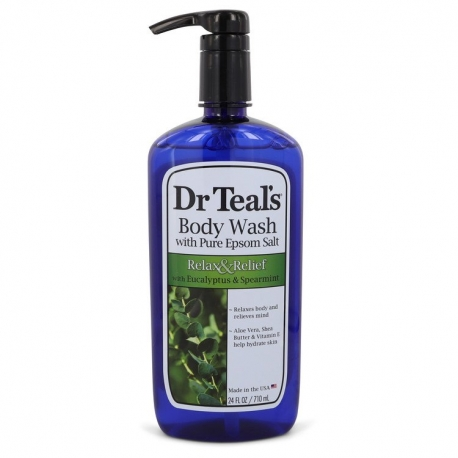 Dr Teal's Dr Teal's Body Wash With Pure Epsom Salt Body Wash with pure epsom salt with eucalyptus & Spearmint