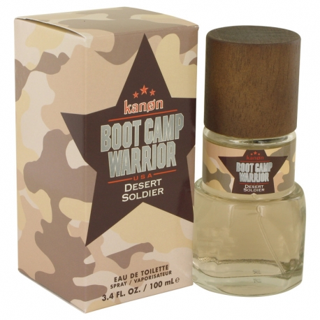 Kanon Kanon Boot Camp Warrior Desert Soldier Eau De Toilette Spray
