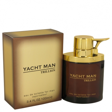 Myrurgia Yacht Man Trillion Eau De Toilette Spray