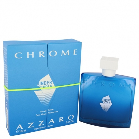 Azzaro Chrome Under The Pole Eau De Toilette Spray