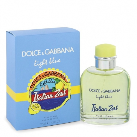 Dolce & Gabbana Light Blue Italian Zest Eau De Toilette Spray