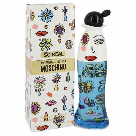 Moschino Cheap and Chic So Real Eau De Toilette Spray