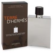 Hermes Terre D'hermès Eau De Toilette Spray Refillable (Metal)