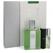 Caron Pour Un Homme De Caron Gift Set 6.7 oz Eau De Toilette Spray + 0.5 oz Mini EDT Spray + 0.5 oz Refillable Spray