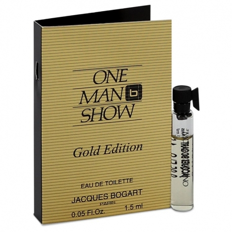 Jacques Bogart One Man Show Gold Edition Vial (sample)