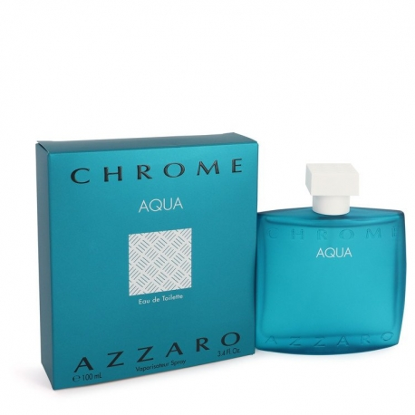Azzaro Chrome Aqua Eau De Toilette Spray