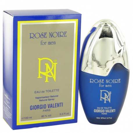 Giorgio Valenti Rose Noire For Men Eau De Toilette Spray