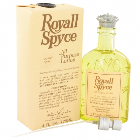 Royall Fragrances Royall Spyce All Purpose Lotion / Cologne