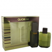 Antonio Puig Quorum Gift Set 100 ml Eau De Toilette Spray + 100 ml After Shave