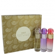 Perry Ellis 360° Gift Set 30 ml Perry Ellis 360 EdT Spray + 30 ml Perry Ellis 360 Coral EdP Spray + 30 ml Perry Ellis 360