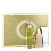 Perry Ellis 360° Gift Set 3.4 oz Eau De Toilette Spray + 4 oz Body Mist + 3 oz Shower Gel + .25 Mini EDT Spray